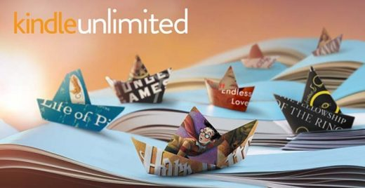 kindle unlimited o que e assinatura capa header