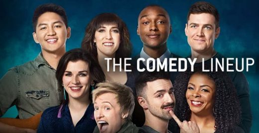 The Comedy Lineup netflix comedia stand-up capa header