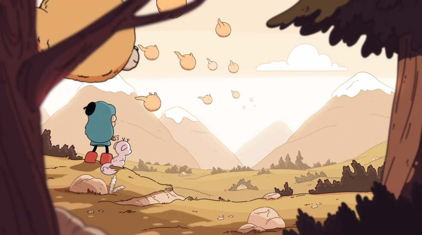 hilda netflix animacao graphic novel 11