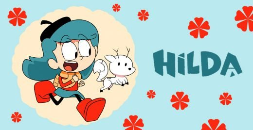 hilda netflix animacao graphic novel Luke Pearson capa