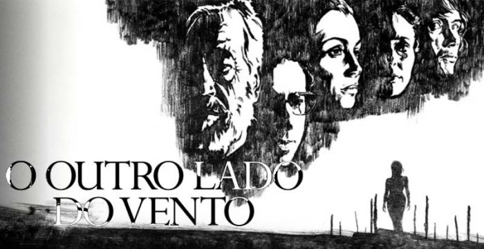 o outro lado do vento netflix the other side of the wind orson welles capa