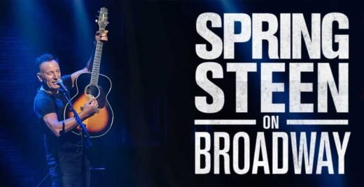 Springsteen on Broadway netflix show musical bruce cantando sucessos capa