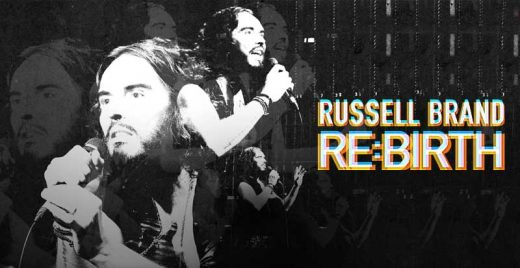 russell brand re-birth netflix stand-up show comedia capa
