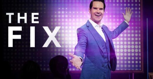 the fix netflix show comedia problemas mundiais Jimmy Carr Katherine Ryan DL Hughley capa