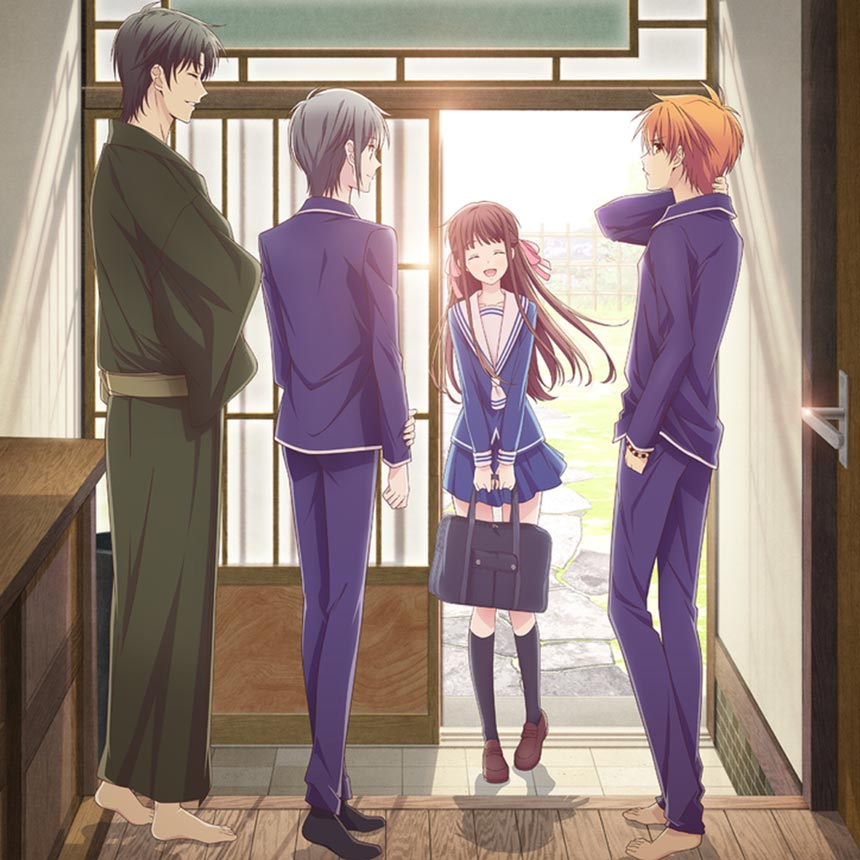 fruits basket reboot remake 2019