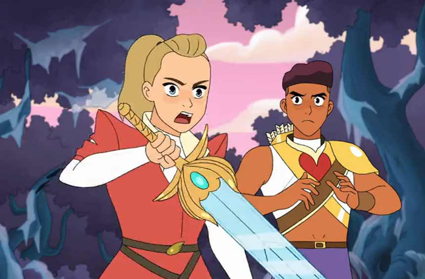 she-ra e as princesas do poder netflix 2 temporada episodios novos 1