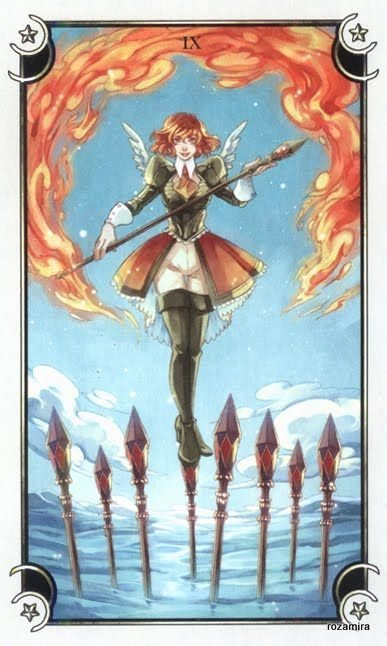 mystical manga tarot deck rann review