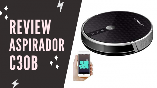 Review Aspirador Robô C30B