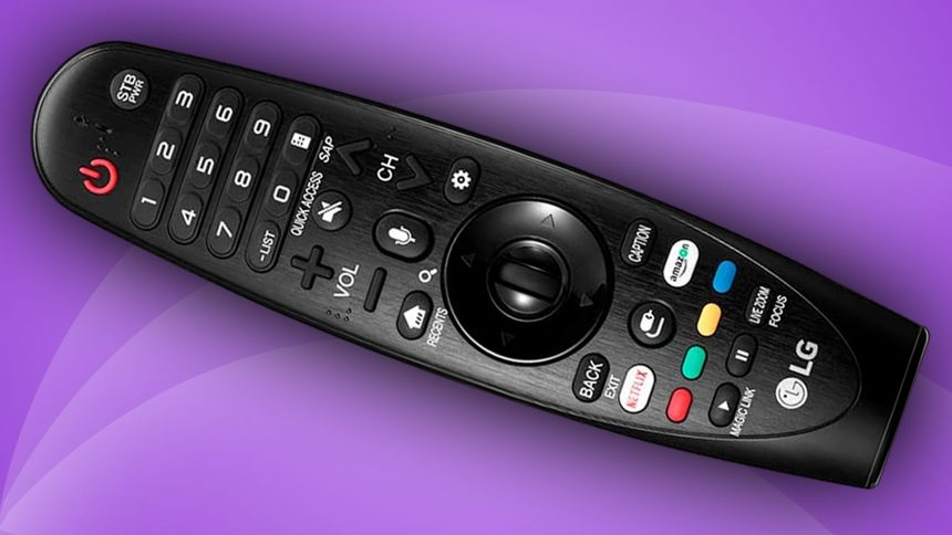 controle smart magic tv lg