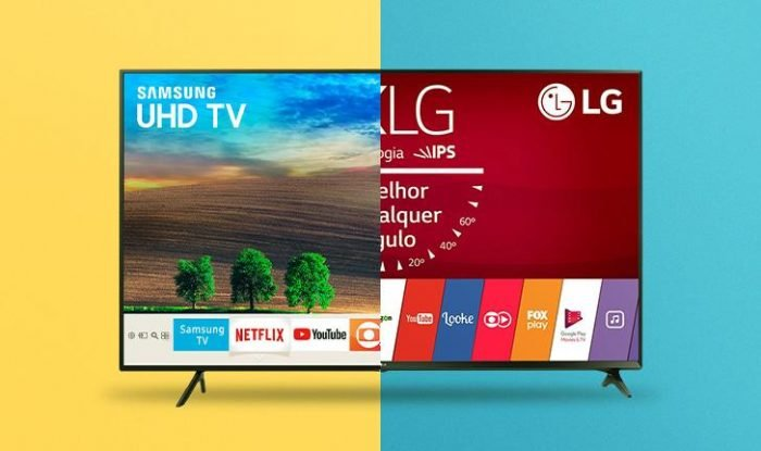 Smart TV HD 4K Led Samsung ou LG TU7020 50UM751C0SB