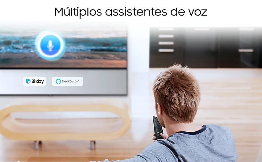 Smart TV Samsung TU8000 Crystal UHD 4K 65 polegadas