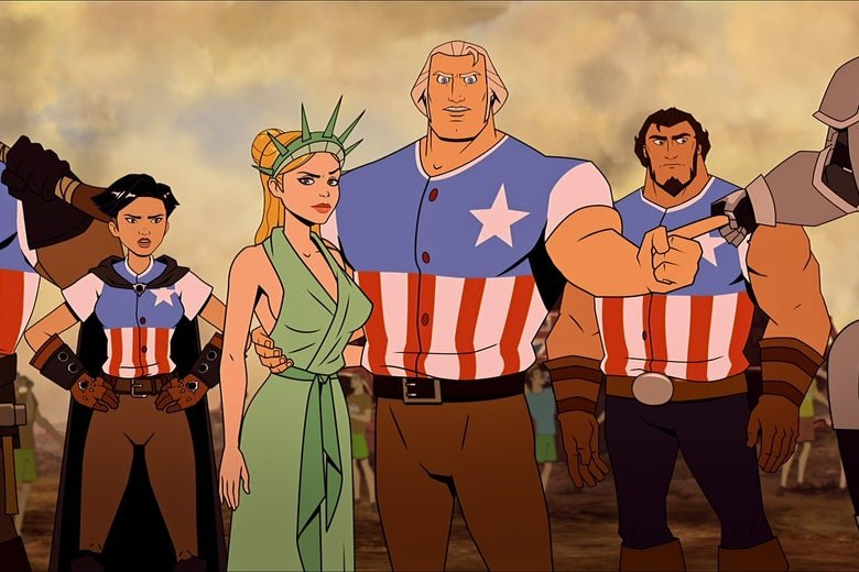 America The Motion Picture netflix animação humor anarquico irreverente vale a pena opiniao review analise